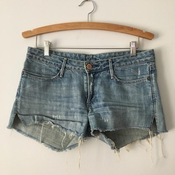 Earnest Sewn Pants - COPY - Earnest Sewn Cutoff Denim Jean Shorts - 28